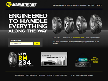 Roadmaster Tires by Cooper Tire