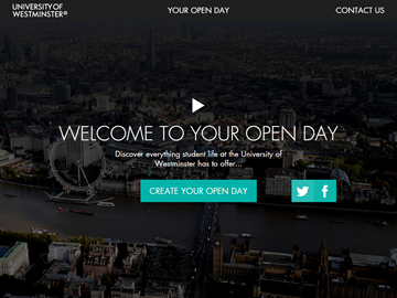 Westminster Virtual Open Day