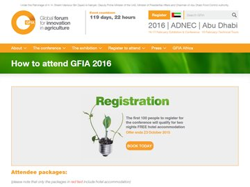 Global Forum for Innovation in Agriculture