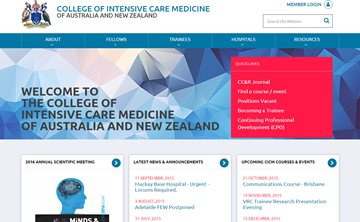 College of Intensive Care Medicine