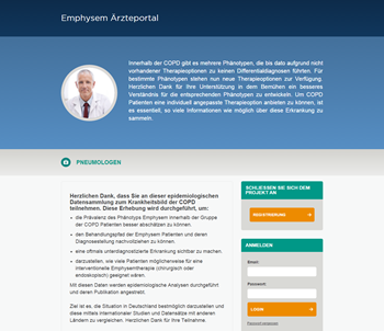 Emphysema Physician Portal