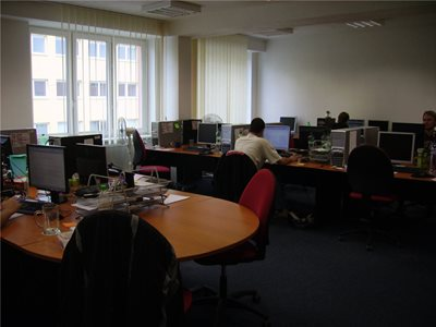 Our third office - technical support room