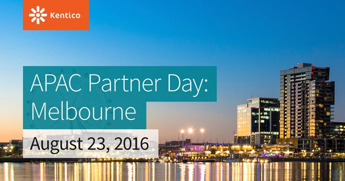 Kentico APAC Partner Day - Melbourne