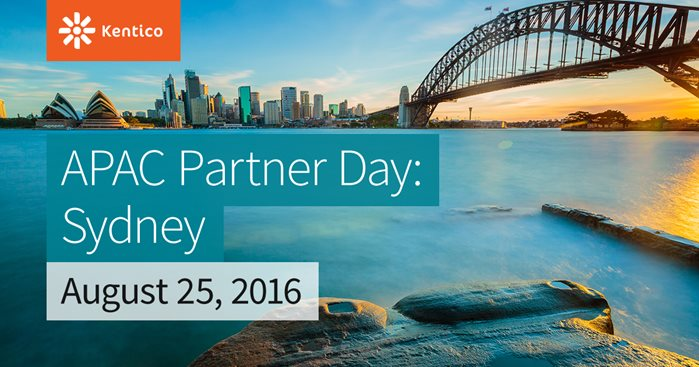 Kentico APAC Partner Day - Sydney
