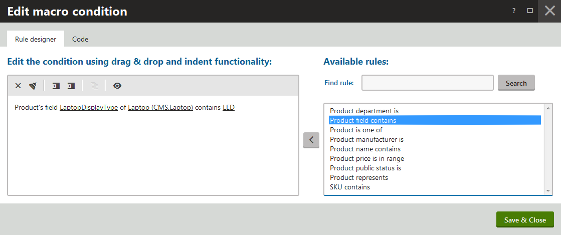 Tweaking Kentico (3): Macro rules