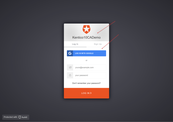 Integrating Custom Claims-Based Authentication with Kentico