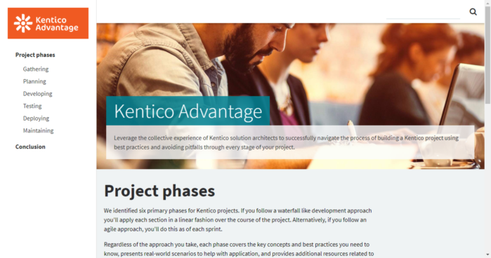 Kentico Advantage