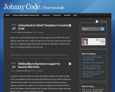 Johnny code fear no code another great blog on for Kentico email template
