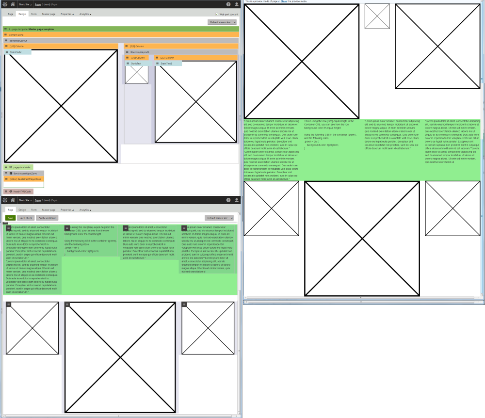 Bootstrap Layout Web Part