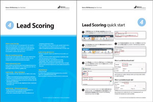 lead scoring quick start guide