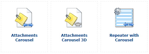 Carousel Web parts